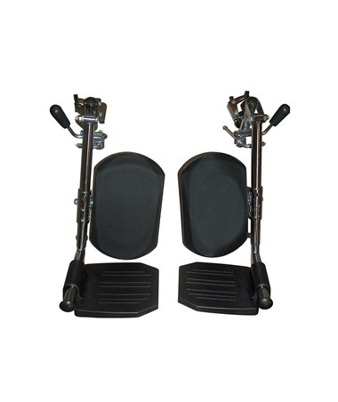 Drive LELR-TF Elevating Legrests for Chrome Sport, Cirrus IV, Viper & Viper Reclining Wheelchairs
