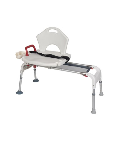 Drive RTL12075 Folding Universal Sliding Transfer Bench