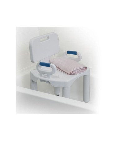 """Drive RTL12505 Bath Bench with Back and Arms"""