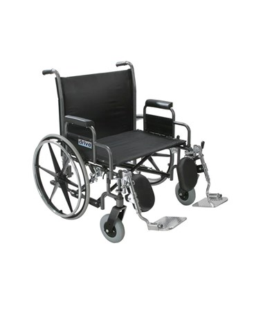 """Drive Sentra Heavy Duty Wheelchair with Detachable Desk Arms"""