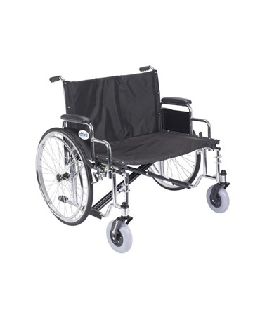 """Drive STD30ECDDA Sentra EC Heavy Duty Extra Wide Wheelchair 30 Seat Detachable Desk Arms"""""