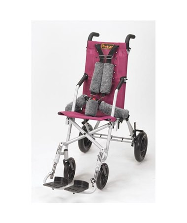 Rose Colored Upholstery for Trotter Mobility Chair DRITR12SB-R
