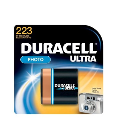6V Procell® Ultra Lithium Battery Packs DURDL223ABPK-1-