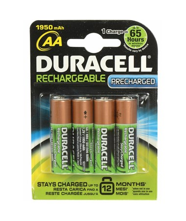 AA Rechargeable Pre-Charged NiMH Battery DURNL1500B4N001