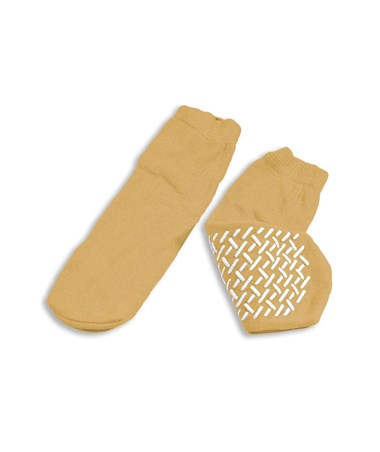 Dynarex #2183 Slipper Socks, XLarge, Beige 48/case