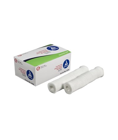 "#3206 Stretch Gauze Bandage Roll N/S 6"" width, 6 rolls to a box/ 8 boxes, total of 48 rolls in a case"