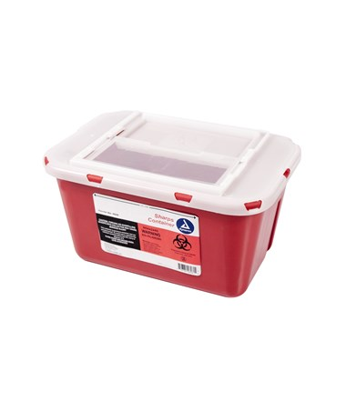 Slide Lid Sharps Container DYN4626-