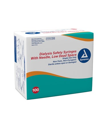 Dialysis Safety Syringes With Needle DYN6931-
