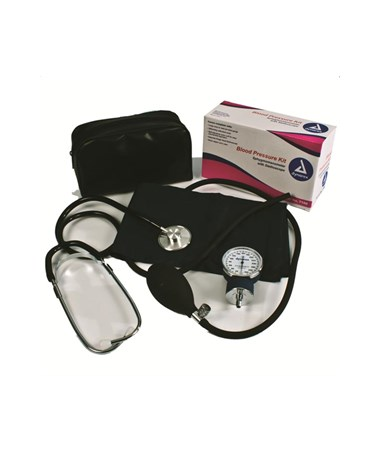 Dynarex #7100 Blood Pressure Kit, Single Head Sthethoscope, 10 per case