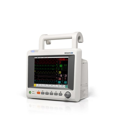 Edan iM50 Patient Monitor - Side View