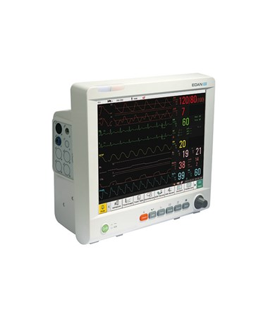 Edan iM80 Patient Monitor - side view