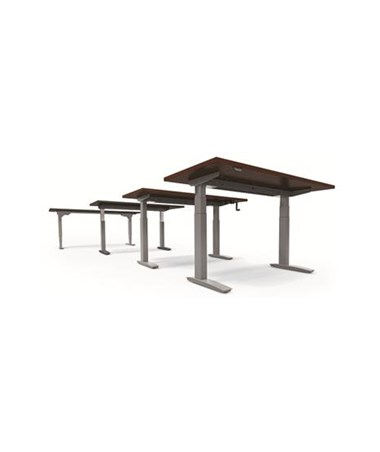 ESI Rectangle Work Surfaces for BeneFIT Series Adjustable Table Bases (Table Base not included)