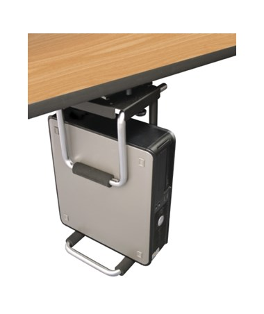ESI Easy Access CPU Holder with Small Form Factor PC (PC not included)