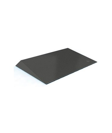 Rubber Threshold Ramp with Beveled Edges EZATHRBE150-1-