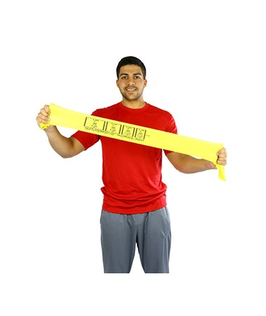 CanDo AccuForce™ Low Powder Exercise Band, 4-Foot Singles FEI10-5901-