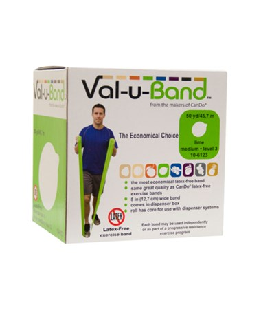 Val-u-Band® Berry Colors® Latex-Free Exercise Band FEI10-6110