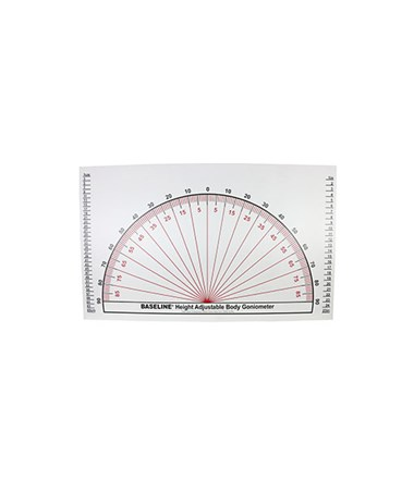 Adjustable Wall Goniometer