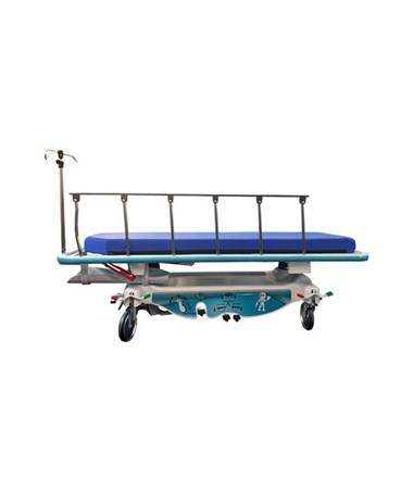 FHC7200 Mobilecare Hospital Stretcher with 5th Wheel - Side View