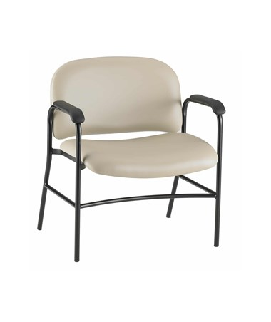 GrahamField Hausted Wall Saver Series Bariatric Side Chair with Armrests