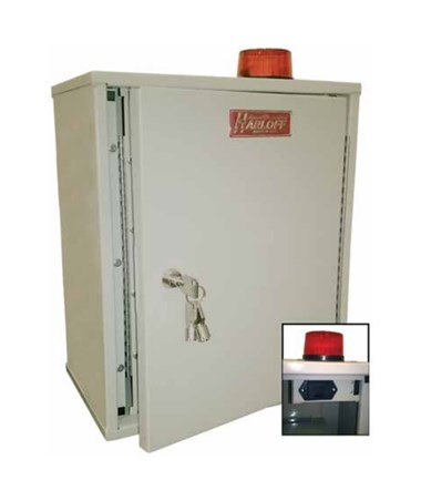 Double Door Narcotics Cabinet with Audio and Visual Alarm HAR27AVD20