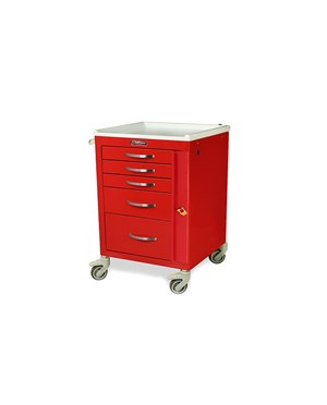 Mini Line Five Drawer Emergency Cart HAR3145B-