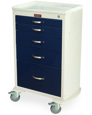 Mini24 Six Drawer Anesthesia Cart HAR4156K-