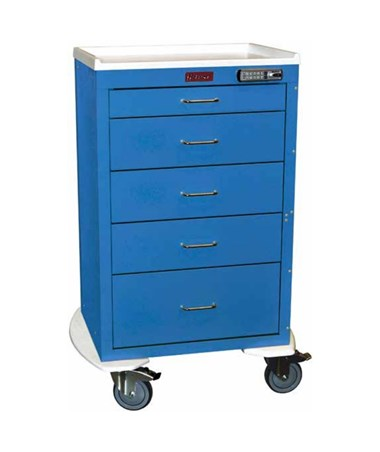 Mini24 Five Drawer Tall Cabinet Isolation Cart HAR4255E