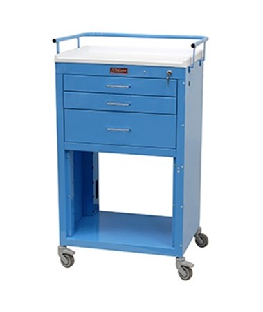 Mini24 Three Drawer Instrument Cart HAR4736K-