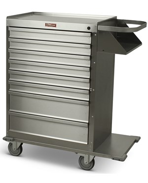 Eight Drawer Stainless Steel Cast Cart HAR6020-