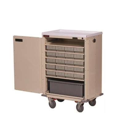 Bin Treatment Cart with Locking Doors HAR6220-