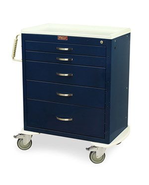 Classic Tall Six Drawer Emergency Cart HAR6416B-