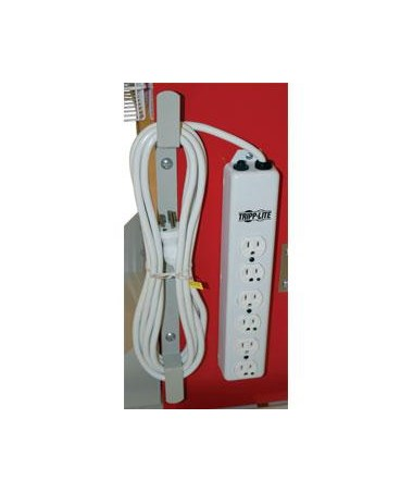 Cord Wrap for Hospital Grade 6 Socket Electrical Outlet HAR680405