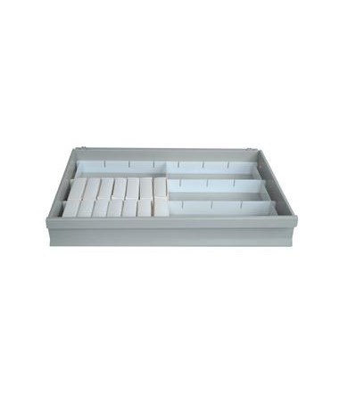 Harloff Unit-Dose Box Divider Set for Value Line Carts