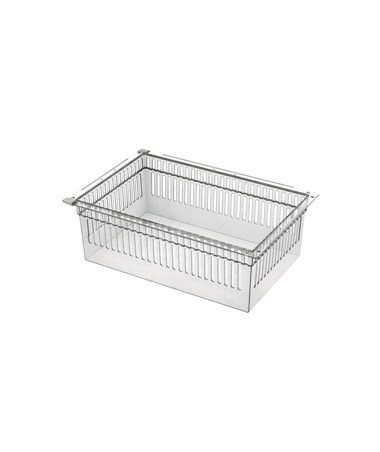 "Harloff 8"" Exchange Tray, Transparent, for Mobile Medical Storage"