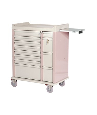 HARAL294BOX- OptimAl™ All-Alluminum Medication Box Cart - 210 Boxes storage capacity