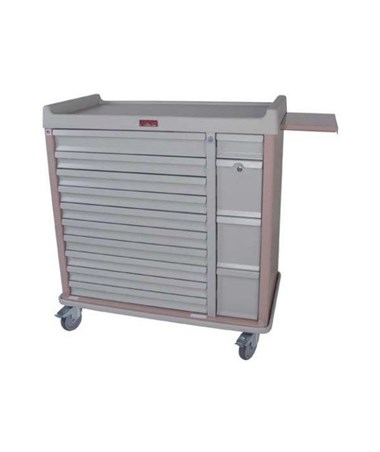 HARAL294BOX- OptimAl™ All-Alluminum Medication Box Cart - 420 Boxes storage capacity
