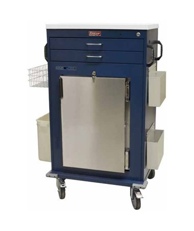 Harloff Malignant Hyperthermia Two Drawer Cart, MH5200K