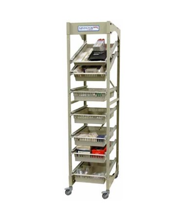 Mobile Open Frame 40 cm Width Wire Rack HARMOS7618-1COL-