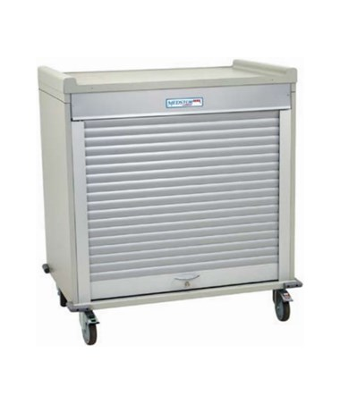 Harloff Short Double Column Medical Storage Cart, MS4040