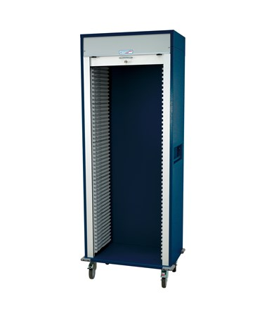 Wide Single Column Medical Storage Cart HARMS8138