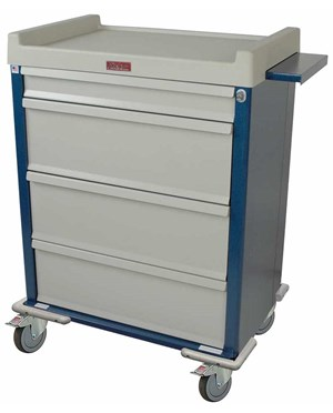 Standard Line Single Column 270 Medicine On Time Medication Cart HARSL270MOT-