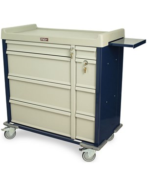 Standard Line Dual Column Punch Card Medication Cart HARSL600PC-