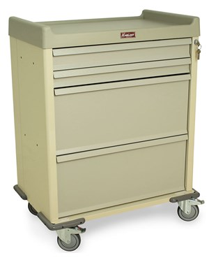 Standard Line Single Column DISPILL Medication Cart HARSL70DSPN-