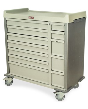 Standard Line Dual Column 72 Multi-Dose Medication Cart HARSL72MD-