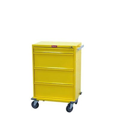 Harloff V-Series Four Drawer Isolation Cart