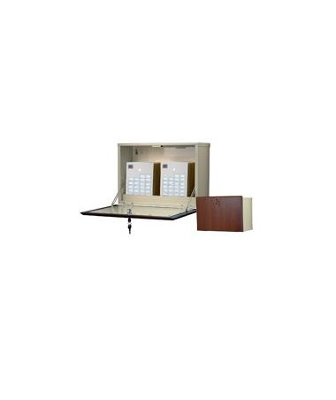 Wood Laminate Exterior Narrow Wall Medication Cabinet HARWL2715-