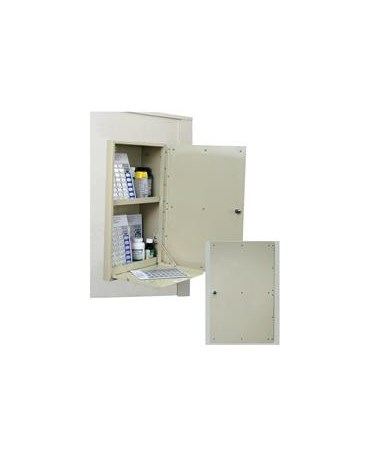 In Wall 40 Punch Card Medication Cabinet HARWL2781