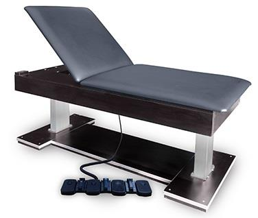 Bariatric Hi-Lo Treatment Table with Foot Control operation