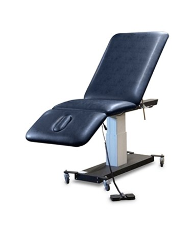 3-Section Mobile Hi-Lo Treatment Table with Locking Casters HAU6074