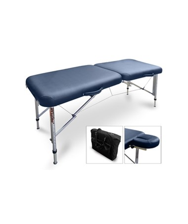 HAU7650-751- Portable Treatment Table / Sideline Table - Blue